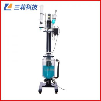 SJS212-5L自动升降调速玻璃反应釜 5升自动升降反应器
