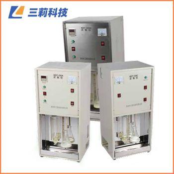 KDT-04D不锈钢外壳定氮仪 四孔消化炉粮食饲料粗蛋白质测定仪 KDT-04、08D蒸馏器(自来水、不锈钢外壳)