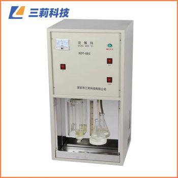 KDT-08C定氮仪 数显八孔消解器粮食饲料粗蛋白质测定仪 KDT-04、08C蒸馏器(自来水、定时回收)